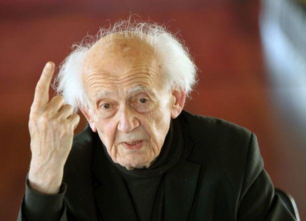 Zygmunt Bauman vuonna 2013.