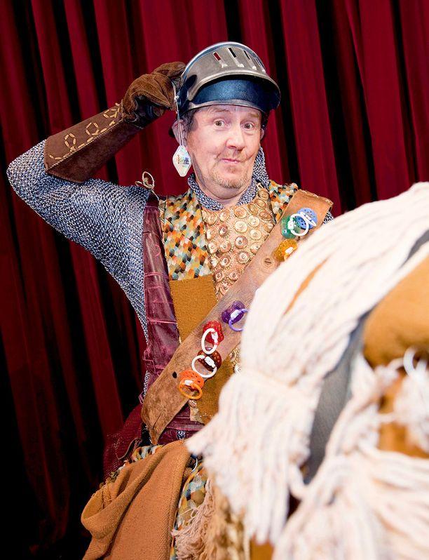Tuttiritari ja hänen Rusinante-hevosensa ovat tuttu ratsukko monissa lapsiperheissä.