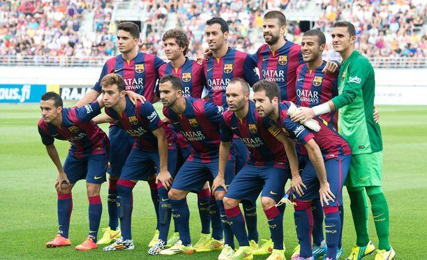 Barcelonan avauksessa riitti tähtiä, vaikka Lionel Messi ja Neymar olivat poissa.