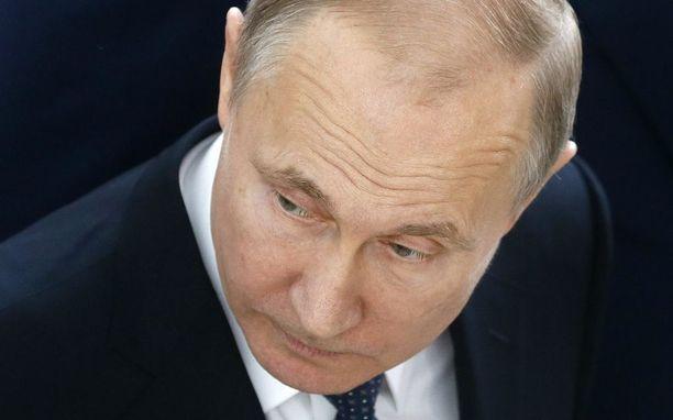 Venäjän presidentti Vladimir Putin rakentaa kuvaa, jossa länsi toimii Venäjää vastaan.