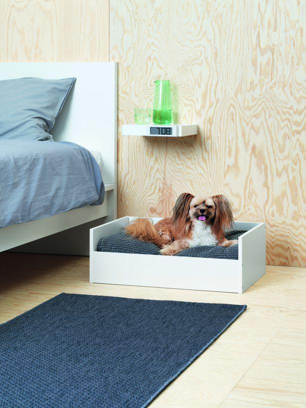 Lemmikkieläinten huonekalut ovat tuttua Ikea-muotoilua.