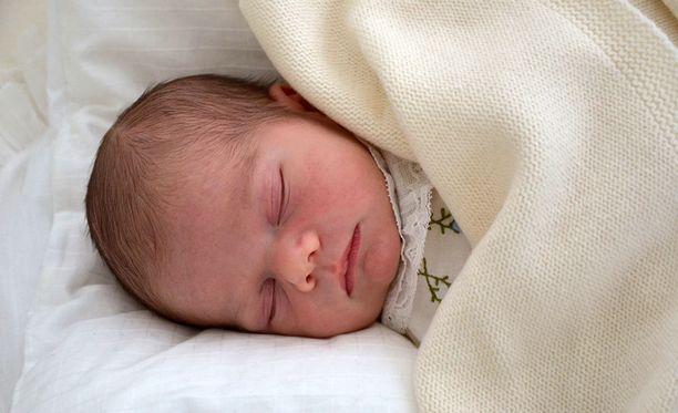 Prinssi Oscar syntyi maaliskuun alussa.