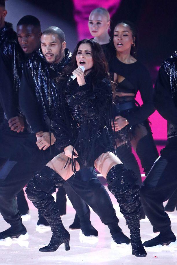 Cherylin esitys ihmetytti katsojia.