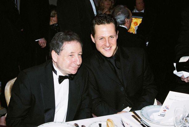 Michael Schumacher ja Jean Todt ovat läheisiä ystäviä.
