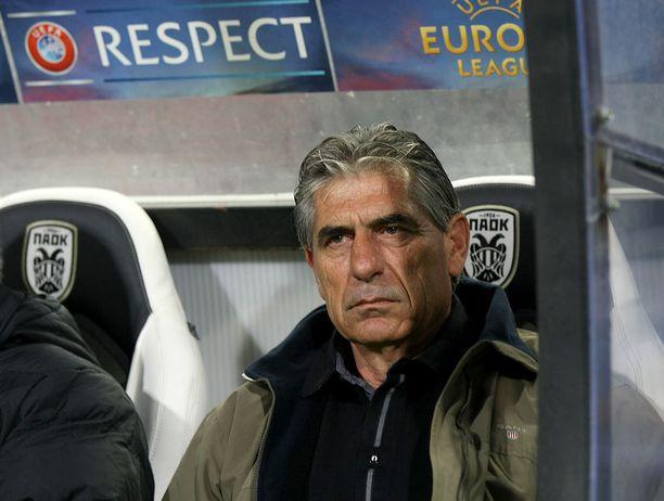 Thessalonikilaista PAOK:ta aiemmin valmentanut Angelos Anastasiadis on harras ortodoksi.