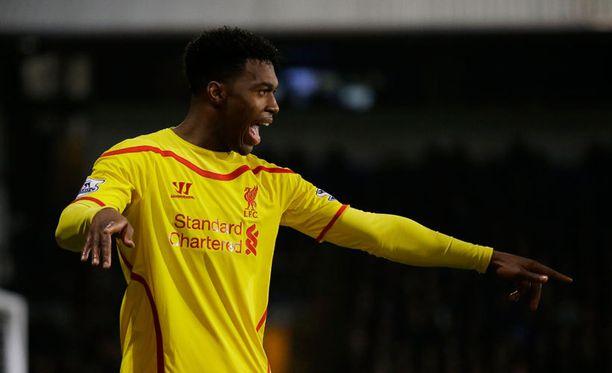 Daniel Sturridge ampui Liverpoolin 1-1-tasoituksen.