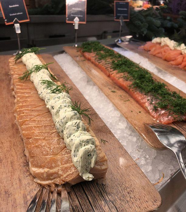 Savustetut ja graavatut kalat kuuluvat joulupöydän klassikoihin.