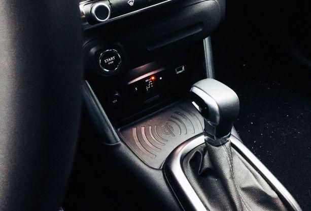 Automaattivaihteisto pelittää hyvin pienen turbomoottorin kanssa.