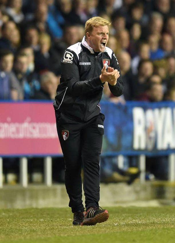 Eddie Howe on tehnyt huikeaa työtä Bournemouthissa.