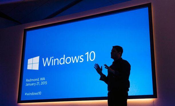 Microsoft esitteli Windows 10:ä viime viikolla Yhdysvalloissa.