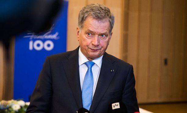Presidentti Sauli Niinistö kertoo Venäjän-matkansa sisällöstä.