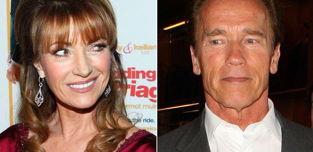 Jane Seymour kertoo, etteivät paljastukset Schwarzeneggerin salatusta rakkauselämästä lopu lehtolapsikohuun.