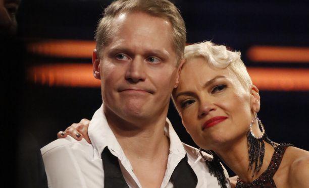 Jarkko Tamminen pettyi pudottuaan Tanssii tähtien kanssa -kilpailusta.