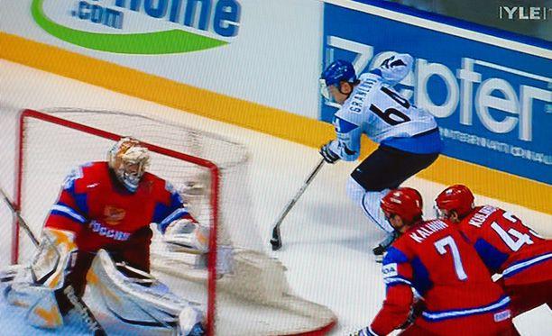Mikael Granlundin ilmaveivimaali nosti hänet koko jääkiekkomaailman ykköspuheenaiheeksi.