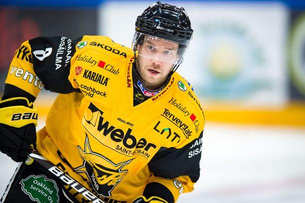 Ville Koho on nyt pelannut hurjat 800 liigaottelua.