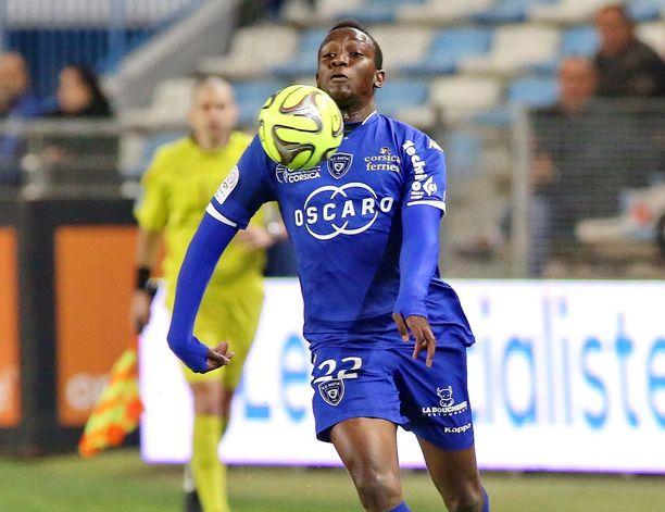 Christopher Maboulou on poissa.