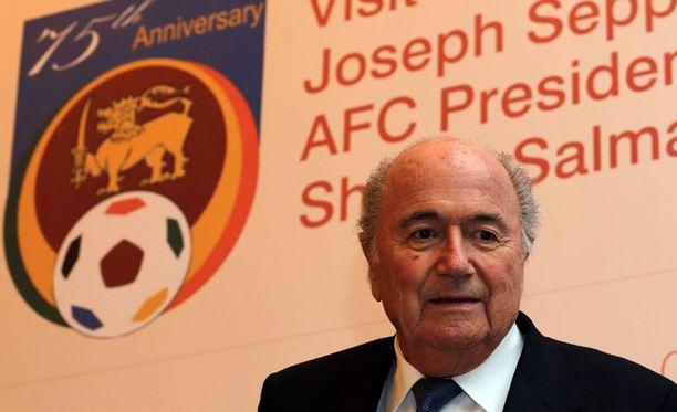 Sepp Blatterin johtama Fifa on joutunut vastailemaan korruptiosyytöksiin.