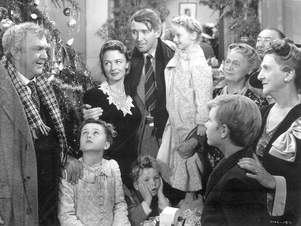Frank Capra ohjasi Ihmeellinen on elämä -elokuvan vuonna 1946.