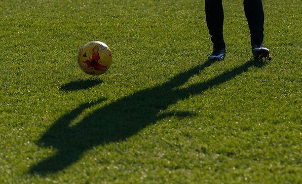 Ruotsalaista entistä jalkapallolupausta epäiltiin murhasta. Kuvituskuva.