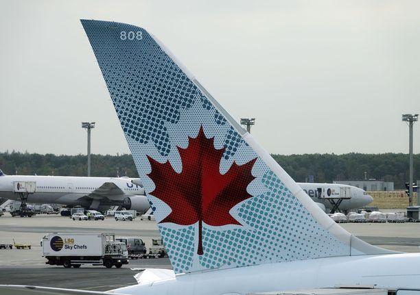 Air Canadan lentoyhtiöllä on tapahtunut jossain vaiheessa todellinen kömmähdys, kun koneeseen on unohdettu nukkuva matkustaja. Kuvituskuva.
