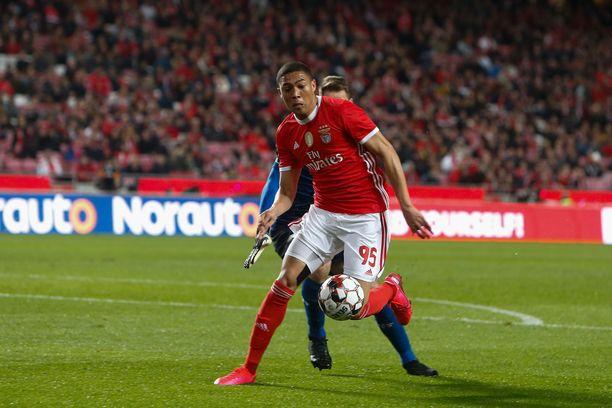 Benfican Carlos Vinicius on Portugalin liigan ykköspyssy 15 maalillaan.