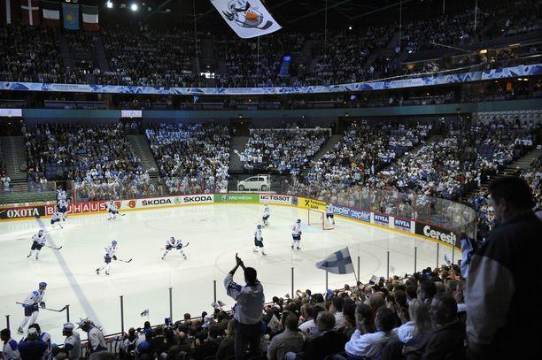 Jääkiekon MM-kisoja pelattiin Suomessa viimeksi 2012 ja 2013.