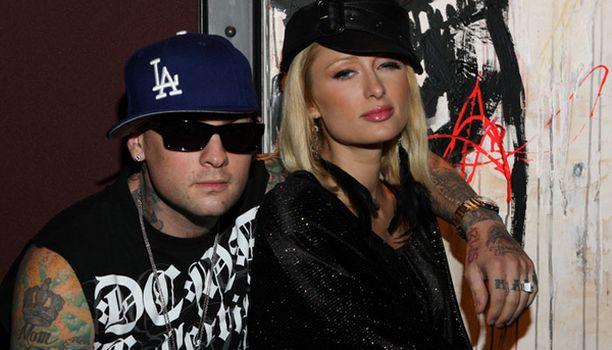Näin onnellisena pariskunta Paris Hilton - Benji Madden posserasi vielä heinäkuussa.