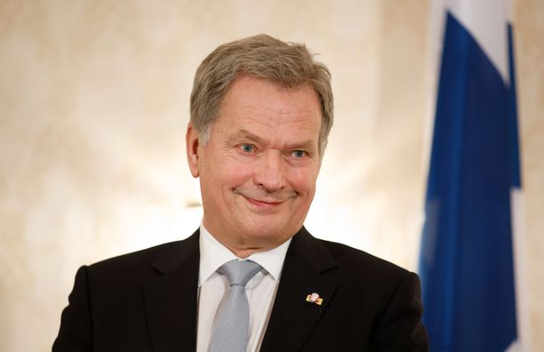 Tasavallan presidentti Sauli Niinistö muisti Tyttöleijonia MM-pronssin johdosta.