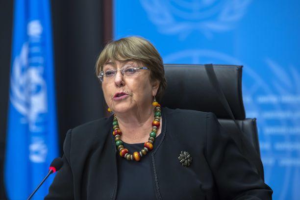 Michelle Bacheletin mukaan aseellisten joukkojen jatkuva sijoittelu ei ole kestävä ratkaisu.