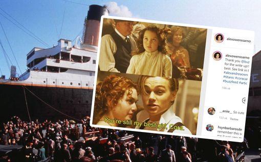 Titanicin pikkutyttö Cora on nyt 31-vuotias – ihmiset tunnistavat yhä ex-lapsitähden