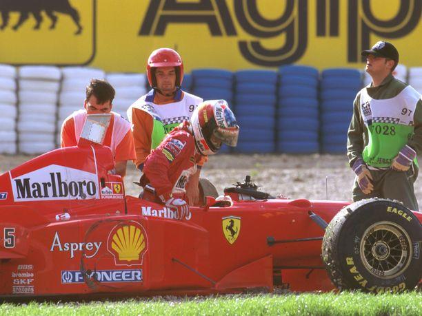 Michael Schumacher on sanonut myöhemmin, että jos vuoden 1997 päätösosakilpailun tapahtumat voisi perua, hän tekisi niin.