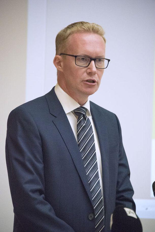 VR:n toimitusjohtaja Rolf Jansson.