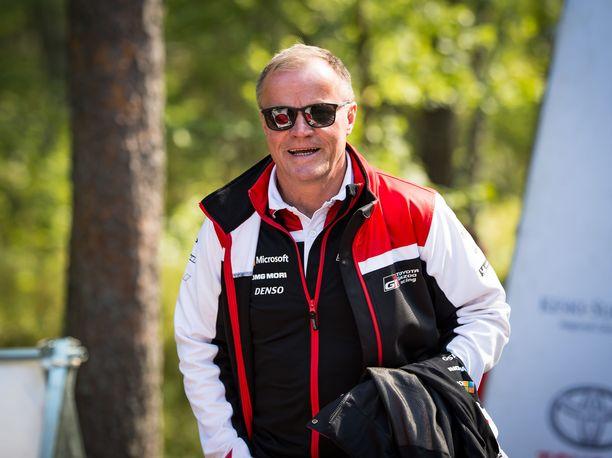 Tommi Mäkisellä riitti ilonaiheita Saksan MM-rallissa.