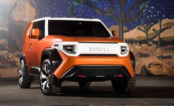 Kulmikkaita muotoja, Toyota FT-4X erottuu ainakin massasta.