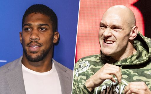 Hurja määrä rahaa: Anthony Joshua ja Tyson Fury tienaavat jättisumman yhdestä ottelusta