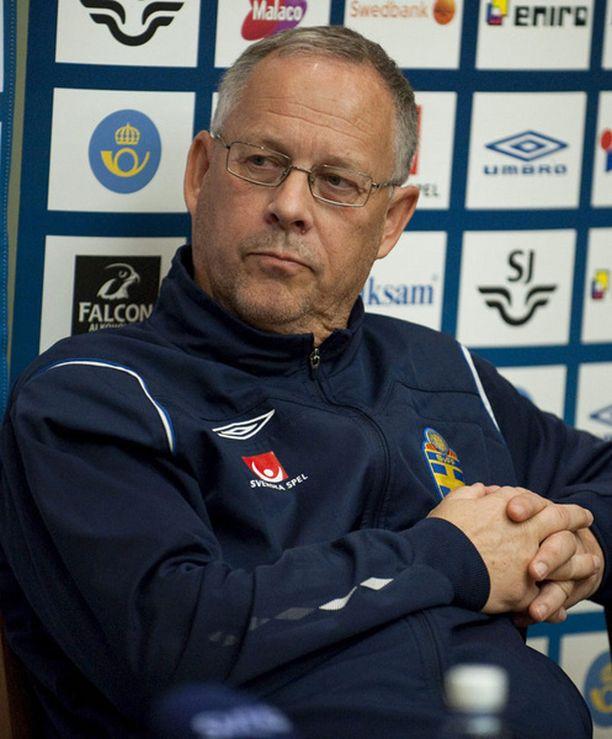 Lars Lagerbäckin ura Ruotsin päävalmentajana päättyy keskiviikkona.