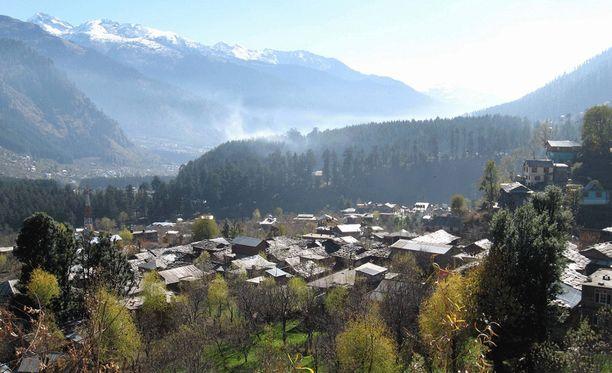 Epäilty rikos tapahtui Manalin vuoristokaupungissa Himalajalla.