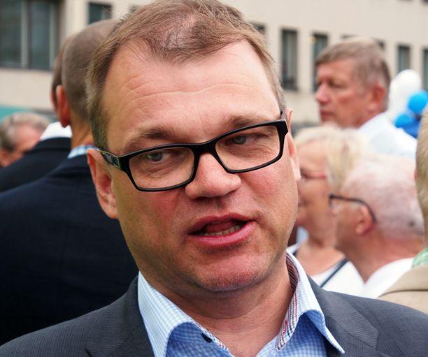 Keskustan puheenjohtaja Juha Sipilä on sairauslomalla keuhkoveritulpan takia.