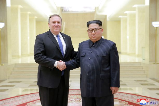 Mike Pompeo on tavannut Kim Jong-unin kahdesti.