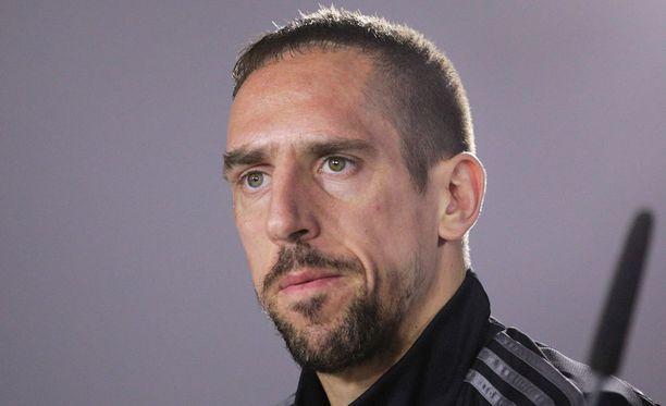 Franck Ribery veti porot sieraimiin oikein huolella.