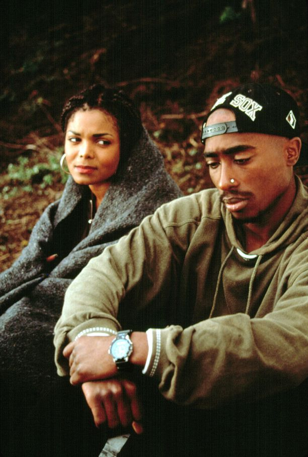 Poetic Justice -elokuvassa räppärin vastanäyttelijänä oli Janet Jackson.
