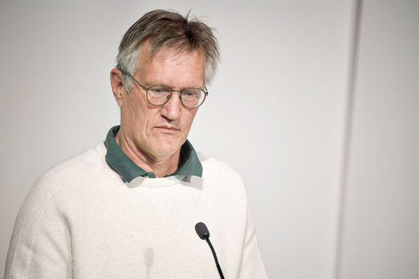 Valtionepidemiologi Anders Tegnell on antanut kasvot Ruotsin koronataistelulle.