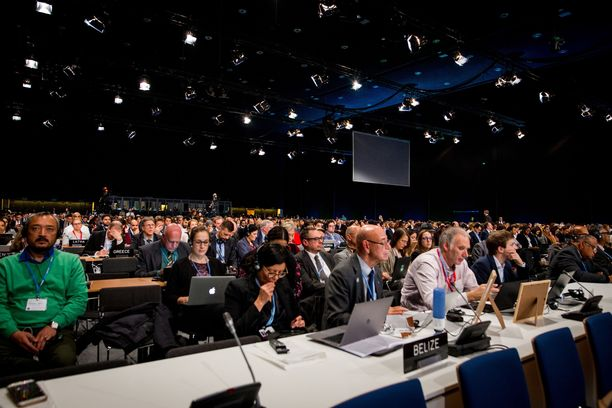 YK:n ilmastokokouksen neuvottelut käytiin Puolan Katowicessa.