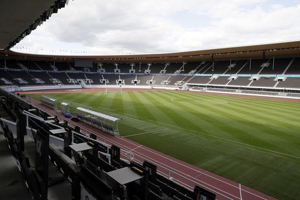 Olympiastadion ei täyty yleisöstä EM-kisojen tapaan, kun Huuhkajat taistelevat MM-kisapaikasta.