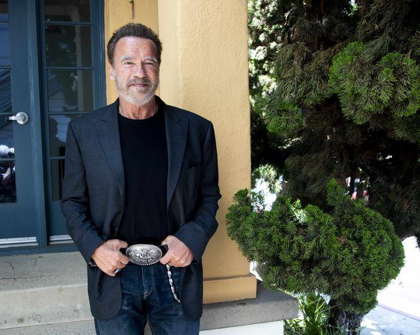 Arnold Schwarzenegger on jo 72-vuotias.