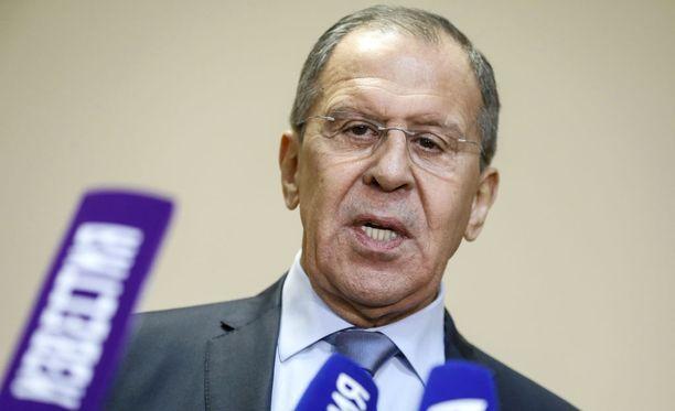 Sergei Lavrov lähetti Mirror-lehden mukaan Boris Johnsonille kiusallisen kuvan.