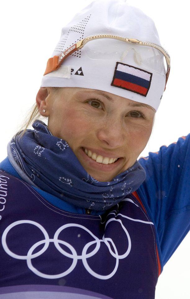 Julija Tsepalova napsi urallaan kuusi olympiamitalia, joista kolme oli kultaista.