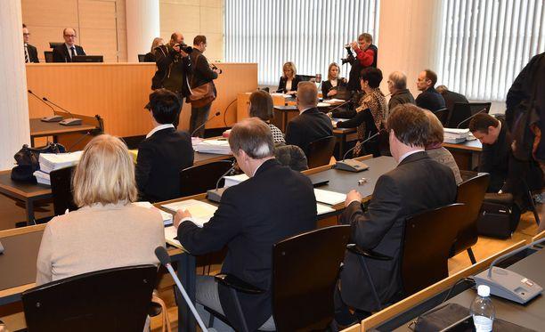 Vilja Eerikan murhaa käsiteltiin käräjäoikeudessa vuoden 2015 helmikuussa. Tapauksesta luettiin syytteet yhdelletoista Helsingin kaupungin lapsityöntekijälle.