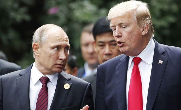 Presidentti Donald Trump tapaa viikon kestävällä Euroopan matkallaan muun muassa Venäjän presidentin Vladimir Putinin Helsingissä 16. heinäkuuta.