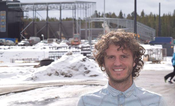 SJK:n Mehmet Hetemaj pääsee kesäkuussa uudelle stadionille.